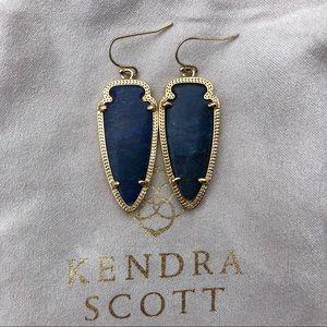 Discontinued Kendra Scott Skylar Earrings in Lapis